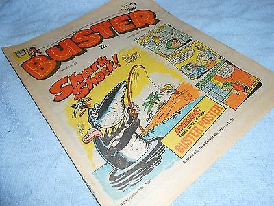 Vintage CLASSIC UK COMIC - BUSTER - 1st November 1980