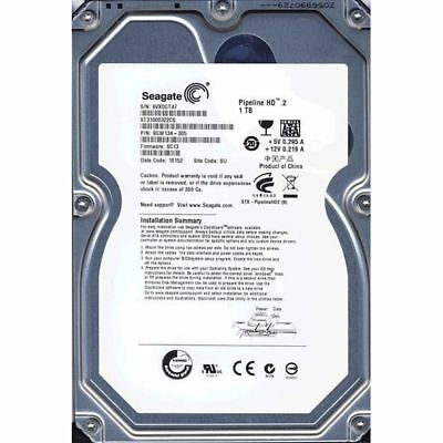 "Seagate 1000GB (1TB) 3.5"" Hard Disk Drive 7200RPM for Desktop PC's HDD CCTV"