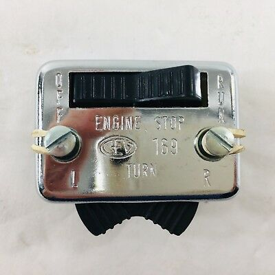 CEV 169 PUCH MOPED RUN SWITCH Turn Signal NOS
