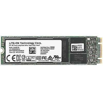 LITE-ON 128GB M.2 2280 Internal SSD CV8-8E128 70K/40K IOPS 3D NAND SATA 6.0GB/s