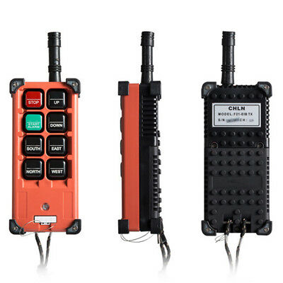 FDA Hoist Crane Radio Wireless Remote Control Transmitter+Receiver 12V F21-E1B