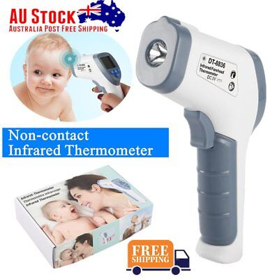 Digital Baby Kid Adult Body Non-contact IR Infrared Temperature Thermometer FK