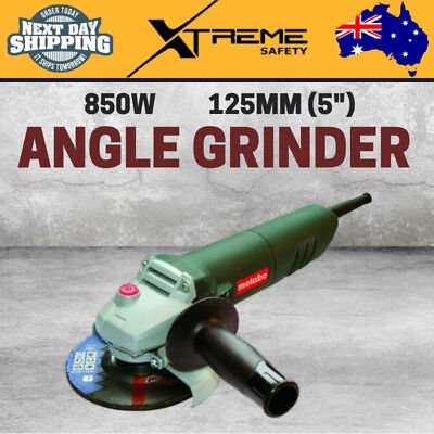"""New Metabo Robust and Durable 240V 850W 125mm (5"""") Angle Grinder 10,000/min"""