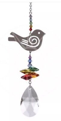 Swarovski Crystal Fantasy Suncatcher Bird