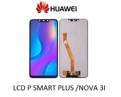 DISPLAY HUAWEI P SMART PLUS NOVA 3i LCD TOUCH SCREEN SCHERMO INE-LX1 LX2