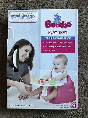 BUMBO PLAY TRAY ~ FOR THE BUMBO FLOOR SEAT (Not Included) ~ COMPLETE ~ NEW