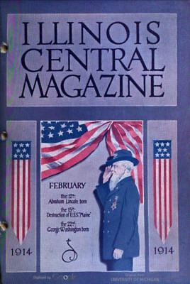 Illinois Central Railroad Magazine 132 Issues On Disc Free Shipping