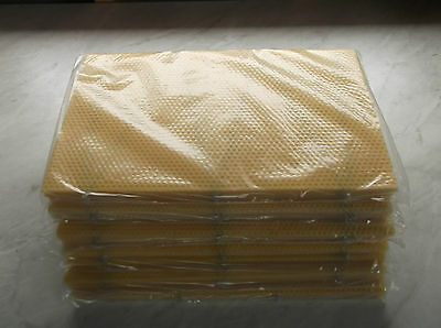 60  National Bee Hive Brood DN4 wired Foundation Wax