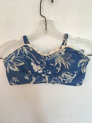 Vintage Disney Bikini Play set 1950s xsmall womens Girls collectible rockabilly