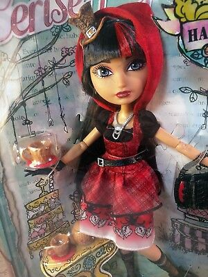NIB Ever After High Cerise Hood Hat-Tastic Party doll