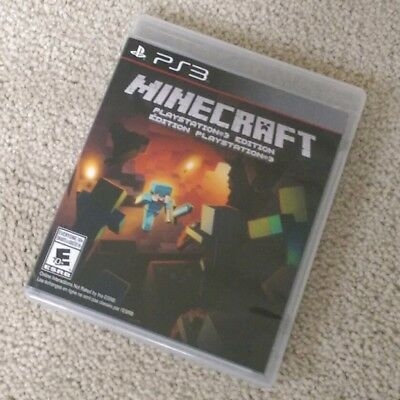 Minecraft: PlayStation 3 Edition (PlayStation 3) PS3 EXCELLENT LIKE NEW