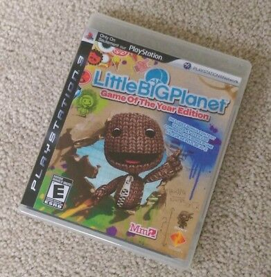 Little Big Planet (PlayStation 3) PS3 Complete EXCELLENT LIKE NEW