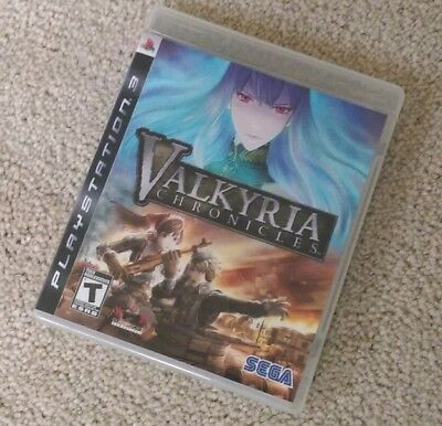Valkyria Chronicles (PlayStation 3) PS3 Complete EXCELLENT LIKE NEW