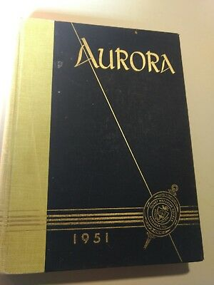 1951 Olivet Nazarene College School Yearbook Kankakee, Illinois Aurora