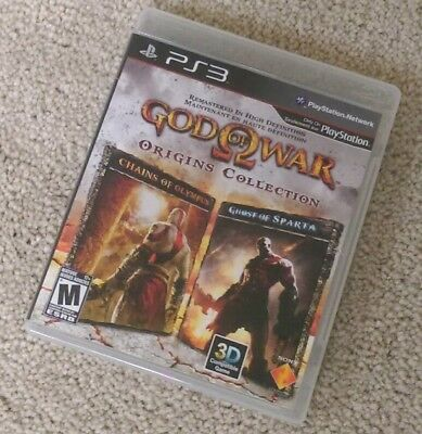God of War Origins Collection (PlayStation 3) PS3 Complete EXCELLENT DISC