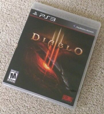 Diablo 3 (PlayStation 3) PS3 Complete EXCELLENT LIKE NEW