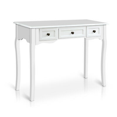 NEW White Arie French Provincial Hall Table - DwellHome,Console Tables