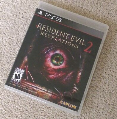 Resident Evil Revelations 2 (PlayStation 3) PS3 Complete EXCELLENT LIKE NEW