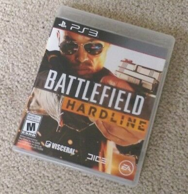 Battlefield: Hardline (PlayStation 3) PS3 Complete EXCELLENT LIKE NEW
