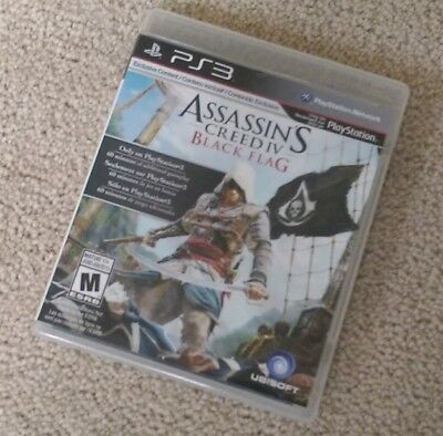 Assassin's Creed IV: Black Flag (PlayStation 3) PS3 Complete EXCELLENT DISC
