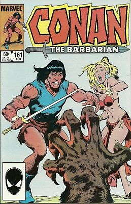 Conan the Barbarian #161 (August 1984, Marvel) John Buscema Copper Age VF/NM