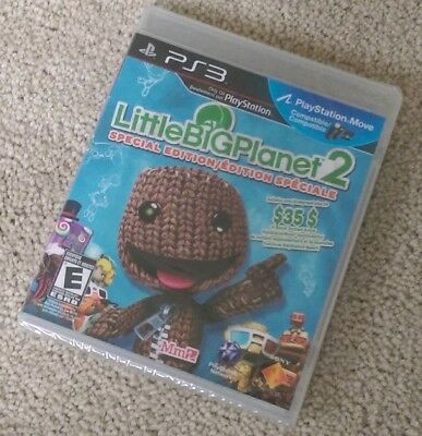 Little Big Planet 2 - Special Edition (PlayStation 3) PS3 BRAND NEW SEALED