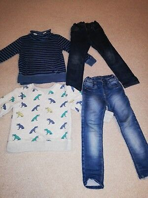 Boys clothes bundle age 4-5 years. Boden, mini club, next. Jumpers and jeans