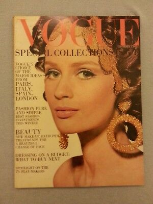 VOGUE FASHION MAGAZINE UK September  1st  1967