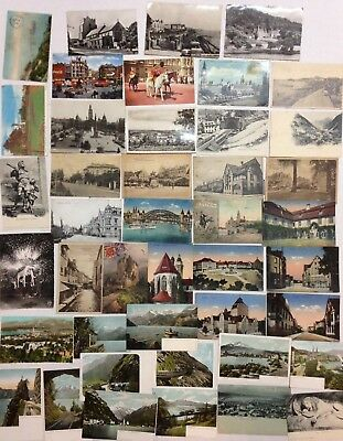 Lot 44 Anciennes Cartes Postales Special Europe