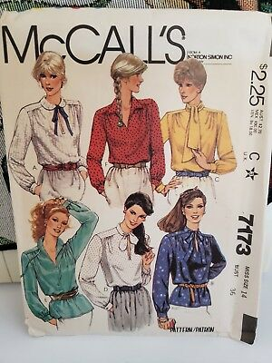 Vintage Sewing Patterns Lot of 8