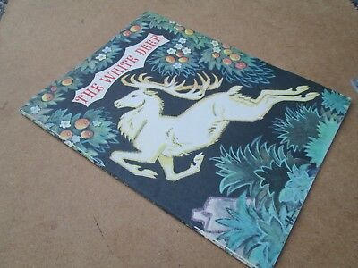 THE WHITE DEER A LATVIAN FOLK TALE  Fainna Solasko LATVIA STORY BOOK