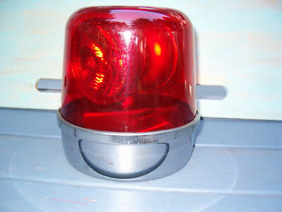 "UNITY RV-25 Beacon, NOS Red dome.    Working --  ""Refurbished"""