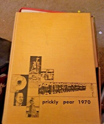 1970 Abilene Christian College Yearbook ~ Prickly Pear