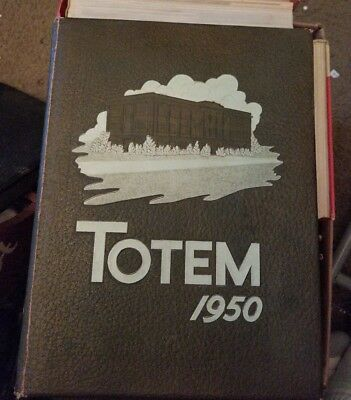 1950 McMurry College Yearbook TOTEM Abilene, Texas Annual