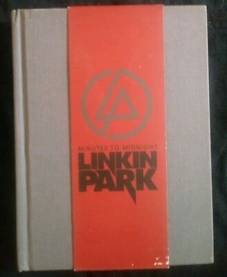 NEW LINKIN PARK Minutes to Midnight CD & DVD Collectible Book and Sleeve RARE