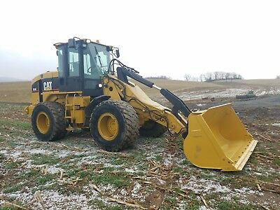 2003 Caterpillar 924G Wheel Loader Diesel Hydraulic Q/C Cat Snow Plow High Lift