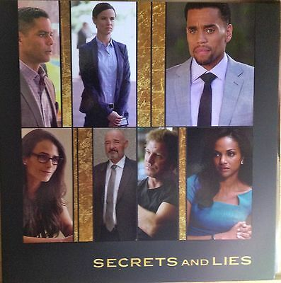 Secrets and Lies, Michael Ealy, 2017 ABC TV 2 Episodes FYC EMMY AWARD VIEWER DVD
