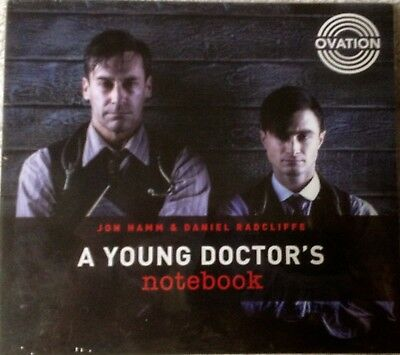 A Young Doctor's Notebook 2017 Ovation TV 4 Part Miniseries FYC EMMY VIEWER DVD