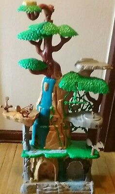 Lion Guard 'Training Lair Playset' Just Play Disney Lion King with 12 Figures!!!