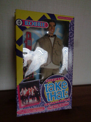 Robbie Williams !!! Take That Doll (Never Opened 1994) Woo!!!