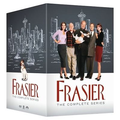 Frasier - The Complete Series (DVD, 2015, 44-Disc Box Set) New