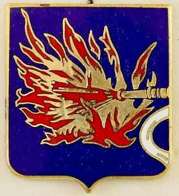 820th Tank Destroyer Battalion Crest DI/DUI CB Aresta HM