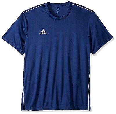 Adidas Men s CORE 18 Jersey Soccer Baseball Training Dark Blue Size Large 33b7fdb67