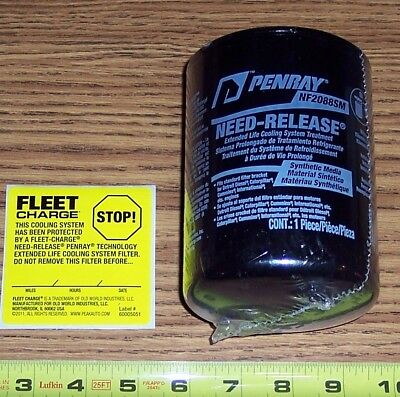 Penray ~ Need-Release Filter, P/n Nf2088Sm ~ Cooling System Synthetic Media
