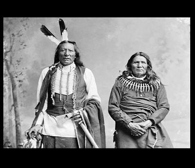 Chief White Eagle + Standing Bear PHOTO Ponca Indian Native American Rights