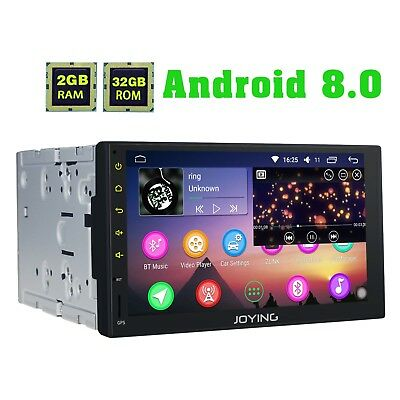 JOYING 7 Zoll Autoradio Android 8.0 GPS Navi Touchscreen 4GB RAM Octa Core