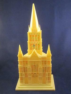 Vintage Musical Lighted Plastic Church Raylite?
