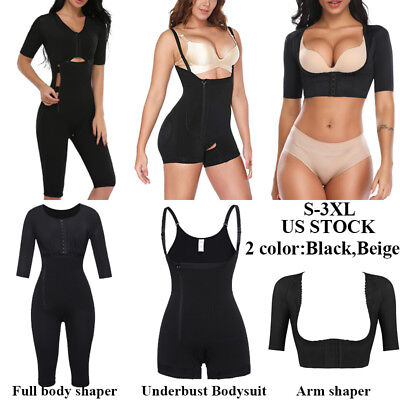 Fajas Colombianas Latex Full Body Shaper Reductoras C Section Slimming Shapewear