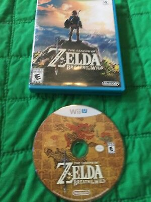 The Legend of Zelda: Breath of the Wild for Nintendo Wii U! Tested & Works!