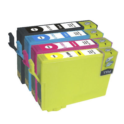 4 PK NON-OEM #126 T126 INK FOR EPSON WorkForce 520 633 630 635 840 645 435 845